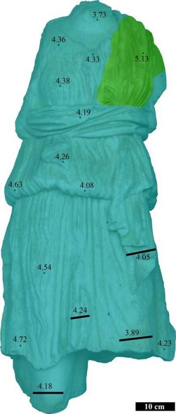 تمثال رخامي