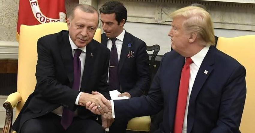 ترامب وأردوغان في لقاء سابق.(أرشيفية)