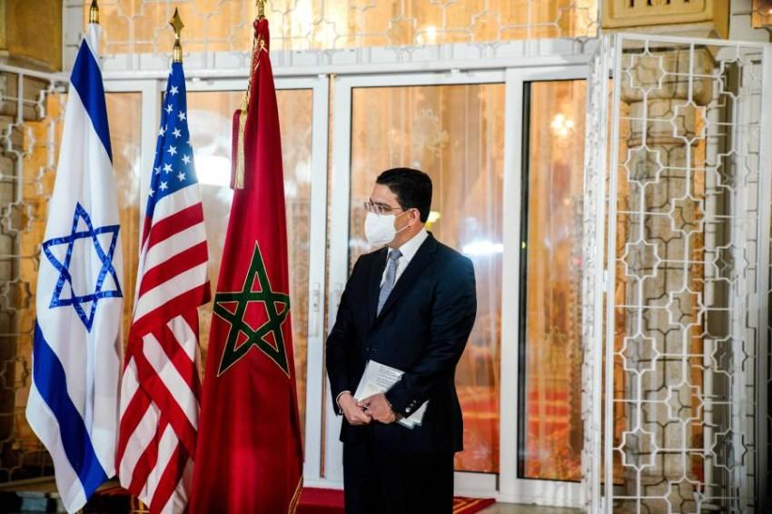 بعد استعادة العلاقات بين المغرب وإسرائيل يخطط كل من البلدين لإعادة افتتاح مكتب اتصالات - رويترز.
