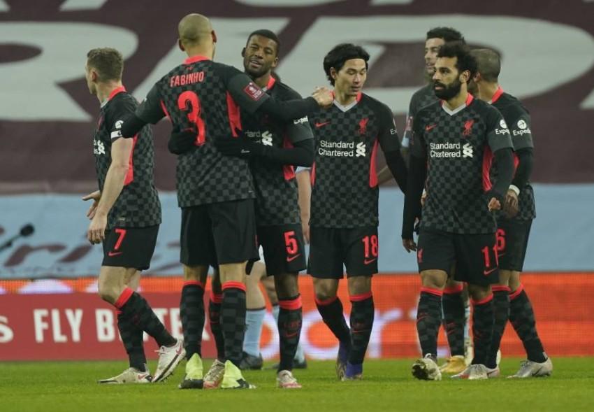 فريق ليفربول. (EPA)