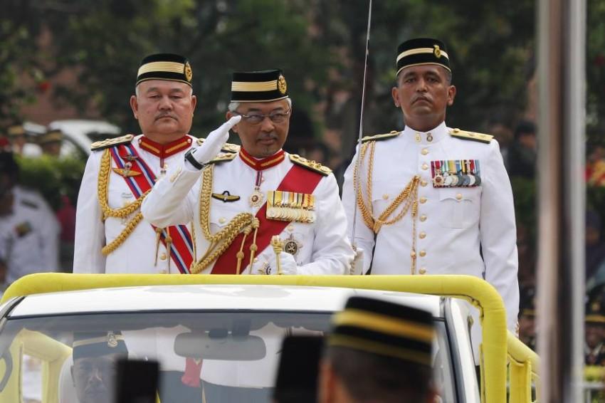 ملك ماليزيا السلطان عبدالله سلطان أحمد شاه - EPA