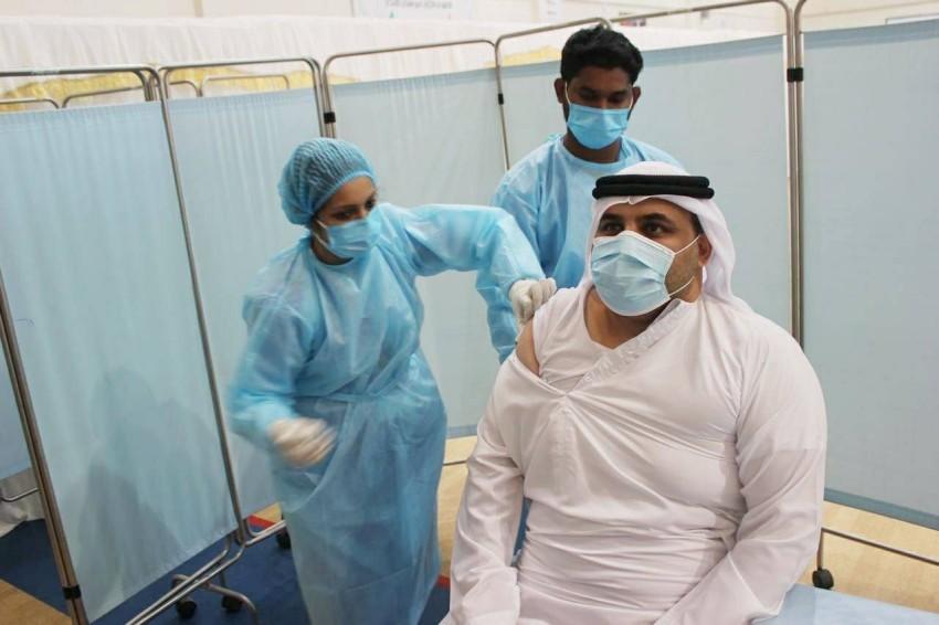 تقديم اللقاحات في مراكز وزارة التربية. (من المصدر)