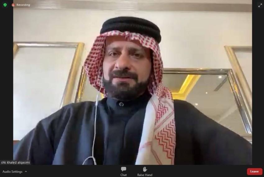 خالد بن حميد القاسمي.