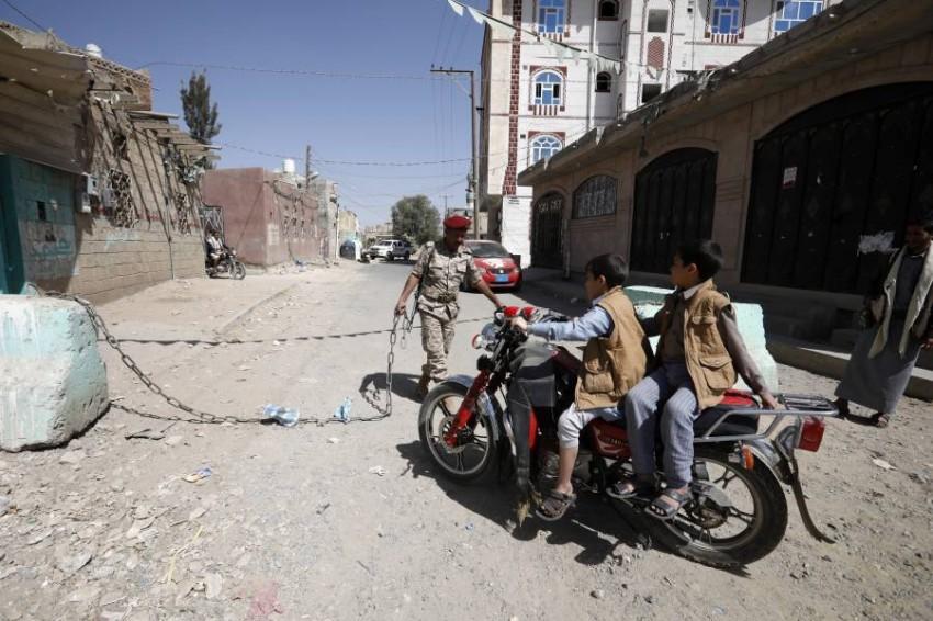 صنعاء تحت حصار الميليشيات الحوثية. (أي بي أيه)