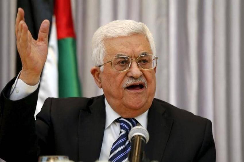 الرئيس الفلسطيني محمود عباس. (رويترز)