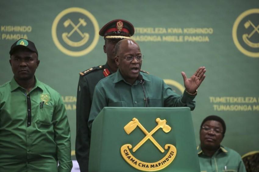 رئيس تنزانيا جون ماغوفولي - أ ب.