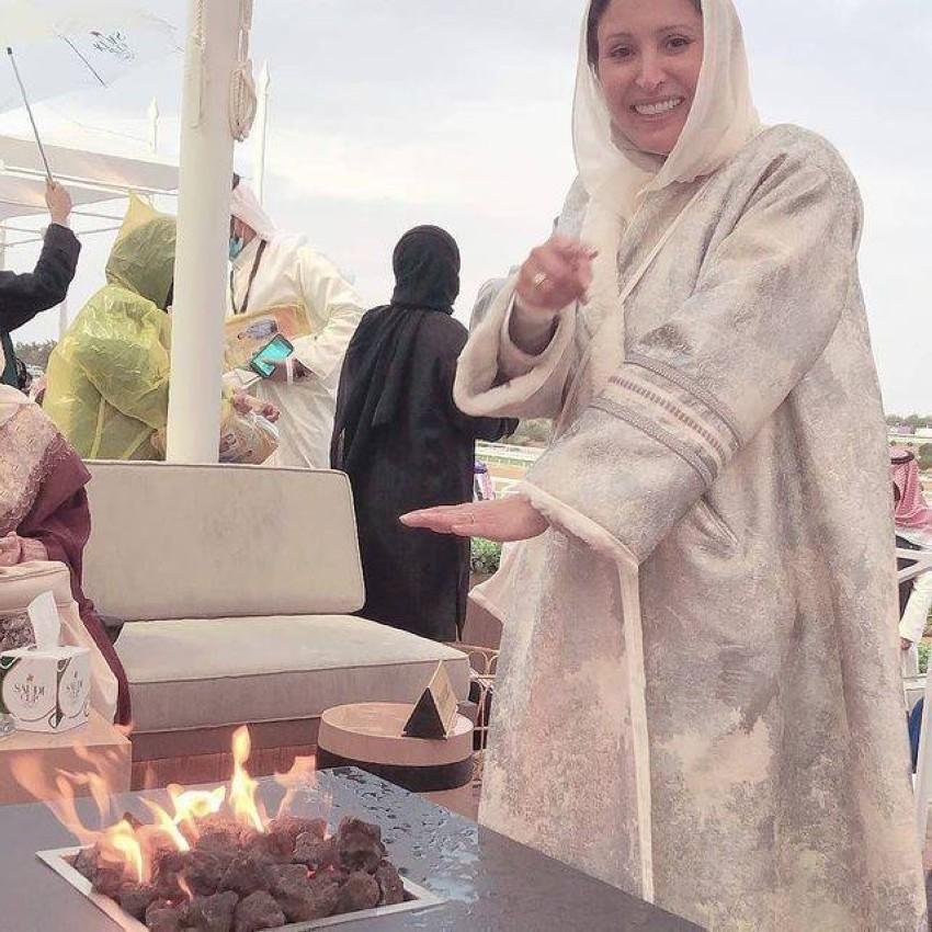 الأميرة نورة بنت فيصل بعباية من A B A D I A أبــــاديــــا