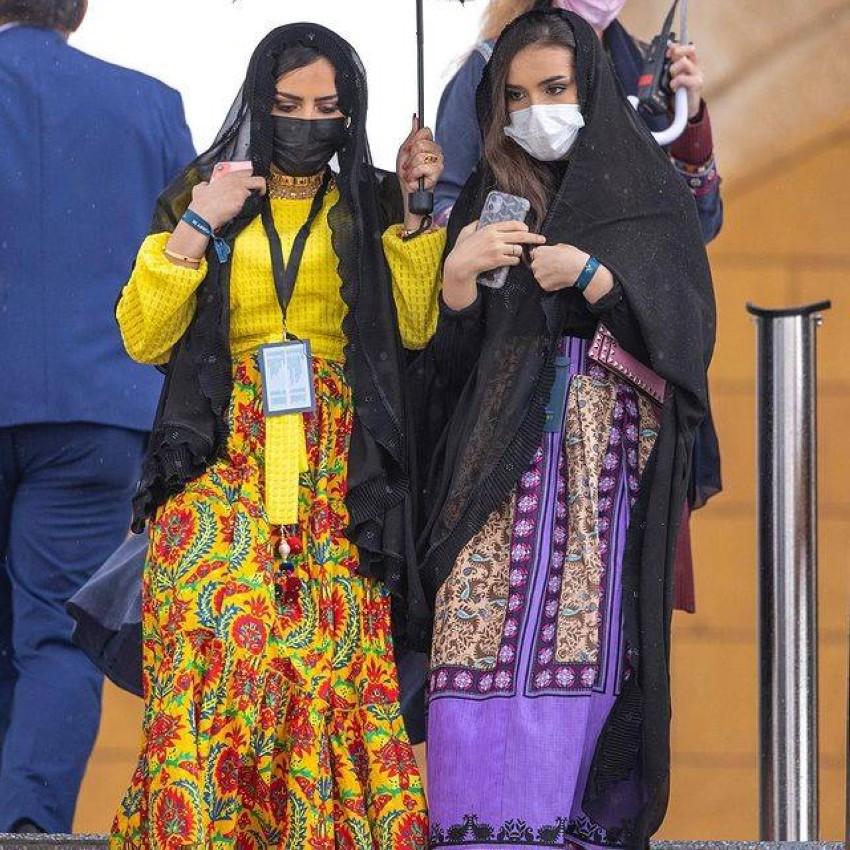 الأزياء السعودية في كأس السعودية