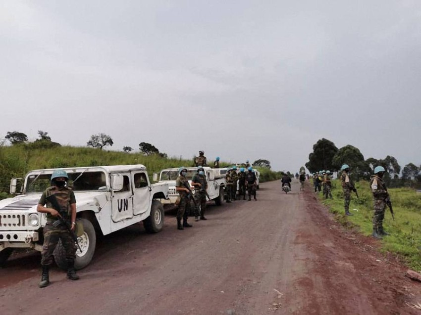 استهدف الهجوم قافلة لبرنامج الأغذية في شرق الكونغو الديمقراطية. (أ ف ب)