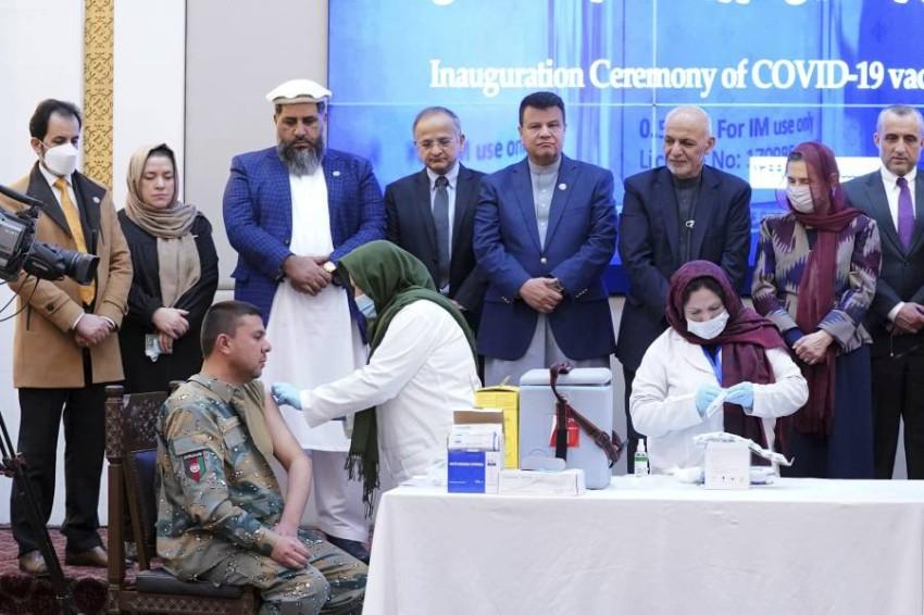 أفغانستان تبدأ حملة اللقاح ضد فيروس كورونا - أ ب.