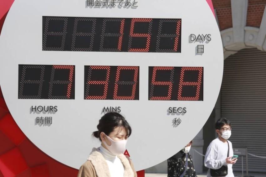 تراجع الوفيات في اليابان يتناقض مع الوضع في كثير من الدول خلال 2020 في خضم أزمة كورونا. (أب)