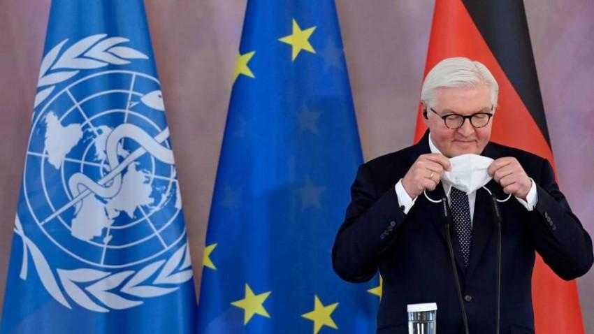 الرئيس الألماني. (أ ف ب)