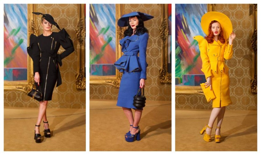 أزياء المتاحف الفنية من moschino RTW fall 21 (13)