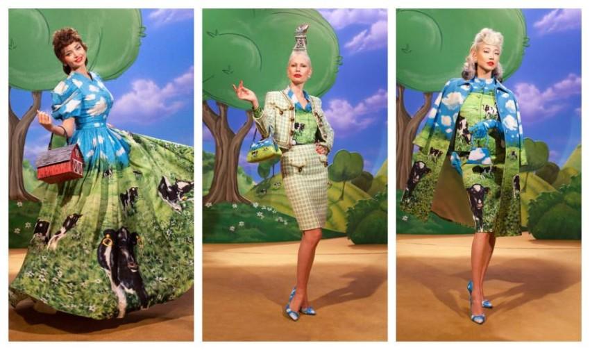 أزياء الريف من moschino RTW fall 21 (2)