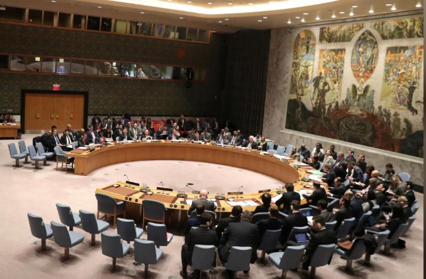 مجلس الأمن الدولي. (رويترز)