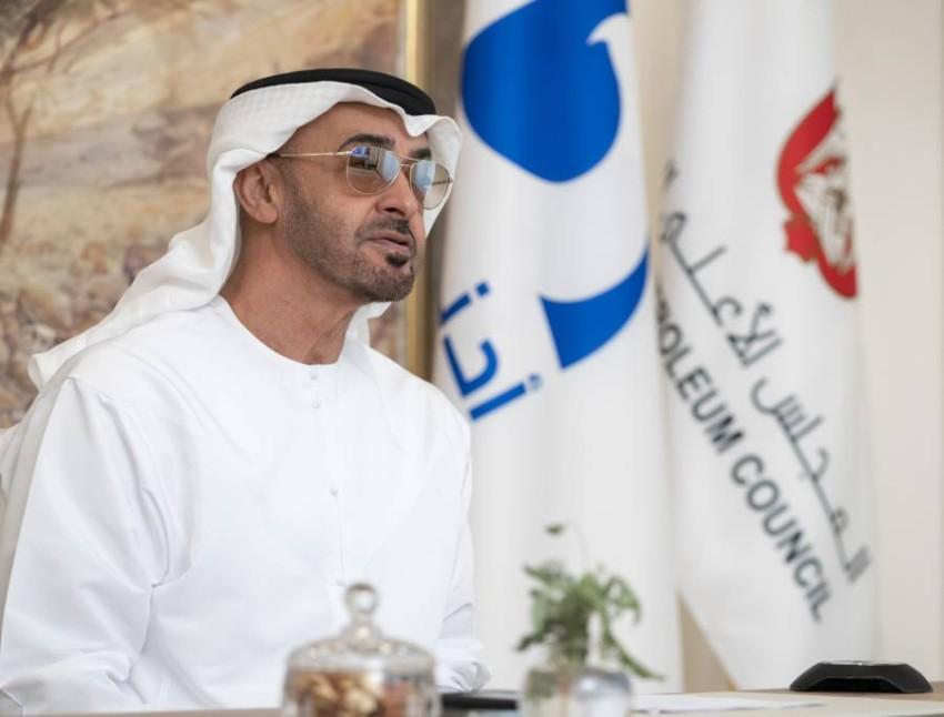 صاحب السمو الشيخ محمد بن زايد آل نهيان.