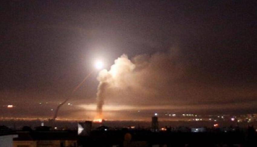 قصف إسرائيلي في سوريا. (أرشيفية)