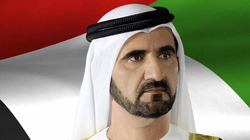 صاحب السمو الشيخ محمد بن راشد آل مكتوم.