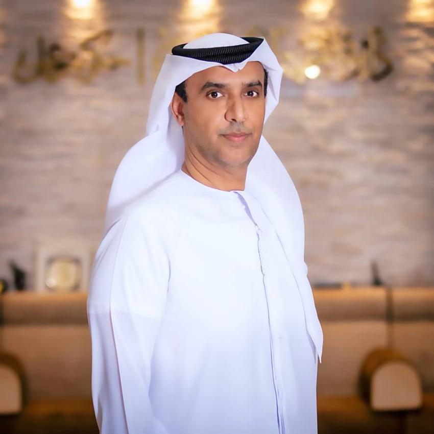مدير عام دائرة التنمية الاقتصادية في عجمان عبدالله أحمد الحمراني. (من المصدر)