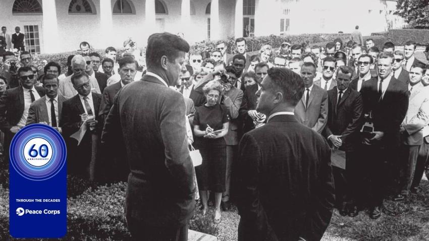 تأسس الفيلق على يد الرئيس جون كينيدي. (حساب الفيلق على تويتر)