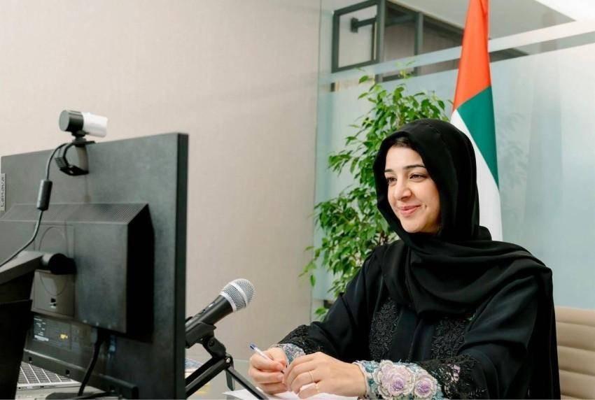 ريم بنت إبراهيم الهاشمي وزيرة دولة لشؤون التعاون الدولي. (وام)