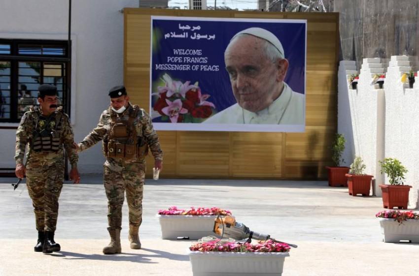 زيارة بابا الفاتيكان للعراق ستتم في ظل إجراءات أمنية مشددة - EPA.
