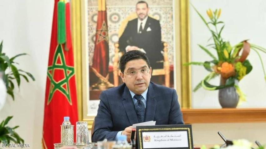 وزير الخارجية المغربي أبلغ الحكومة بالقرار