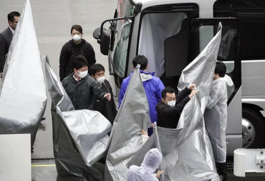 أمريكا تسلم متهمين أمريكيين لليابان متهمين بمساعدة غصن على الهروب - رويترز.