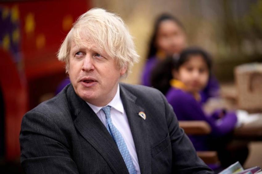 رئيس وزراء بريطانيا بوريس جونسون. (أ ف ب)