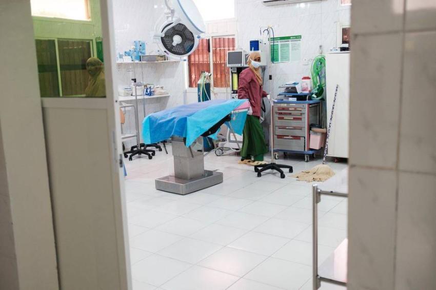 من داخل مستشفي هرجيسا.(دير شبيغل)