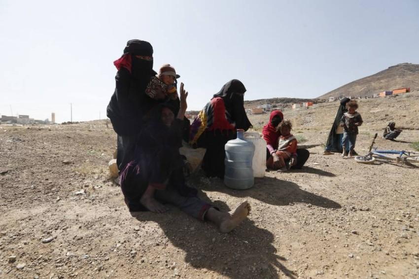 الانقلاب الحوثي حوّل حياة المدنيين في اليمن إلى جحيم. (إي بي أيه)