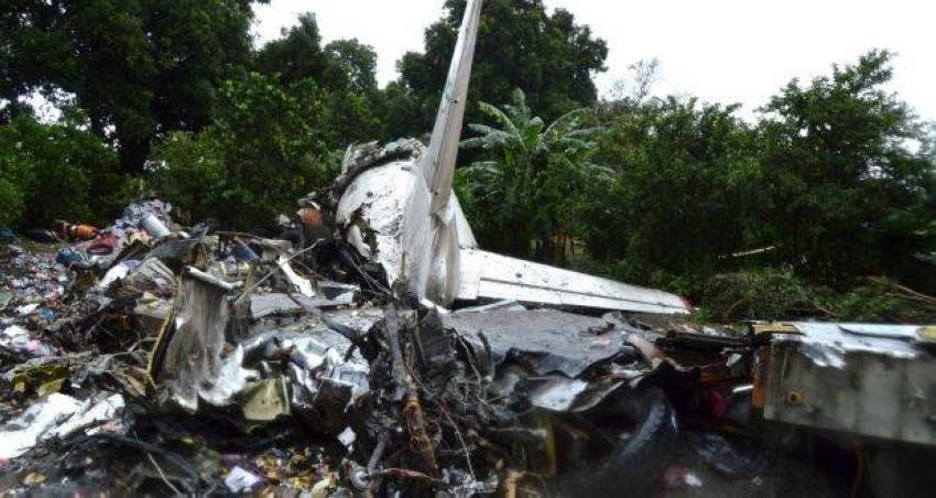 حادث تحطم سابق لطائرة في جوبا. (رويترز)
