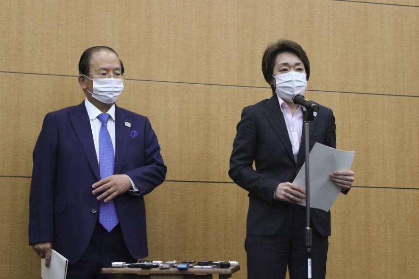 سايكو هاشيموتو رئيسة اللجنة المنظمة لأولمبياد طوكيو. (أ ب)
