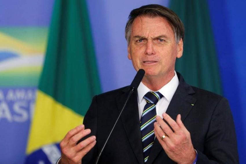 الرئيس البرازيلي جايير بولسونارو. (رويترز)