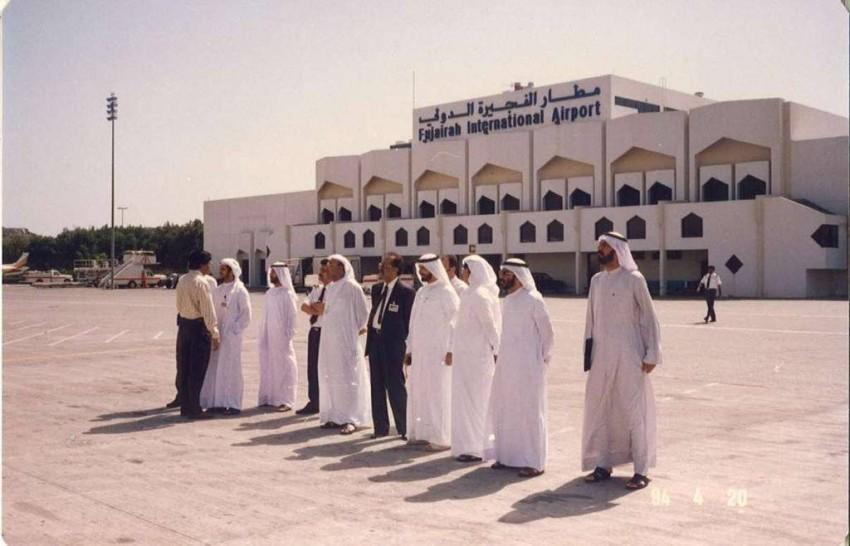 في مطار الفجيرة الدولي تاريخ 20 أبريل 1994