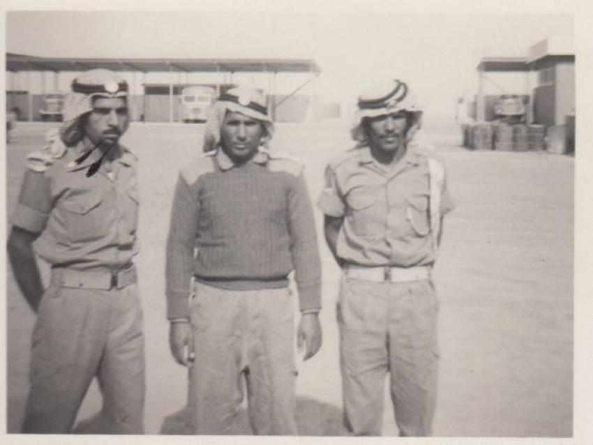 صورة عام 1970، سرية النقليات قوة دفاع أبوظبي.