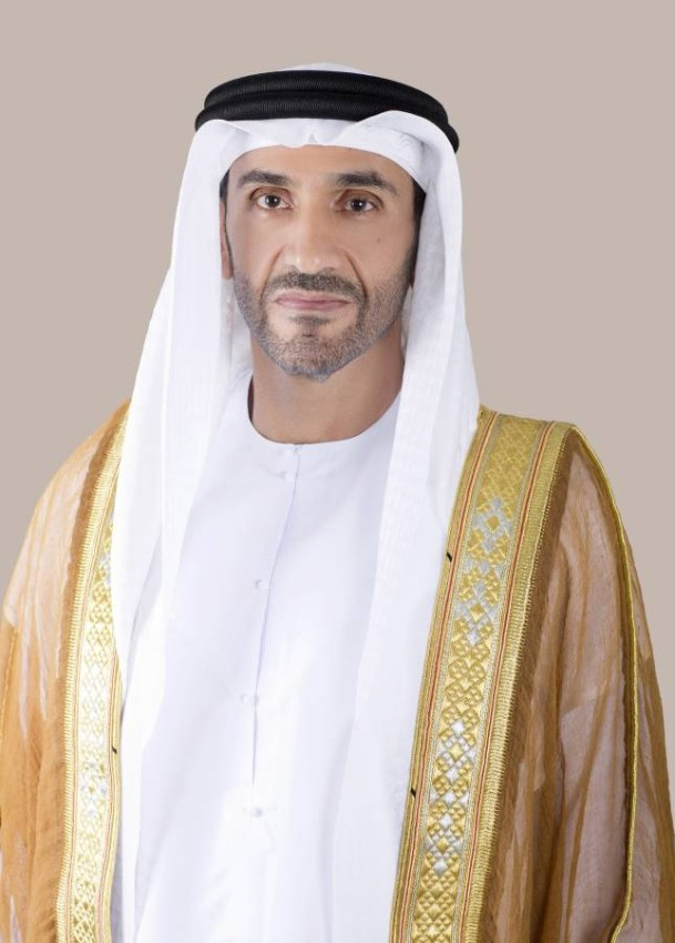 سمو الشيخ نهيان بن زايد آل نهيان رئيس مجلس أبوظبي الرياضي. (الرؤية)