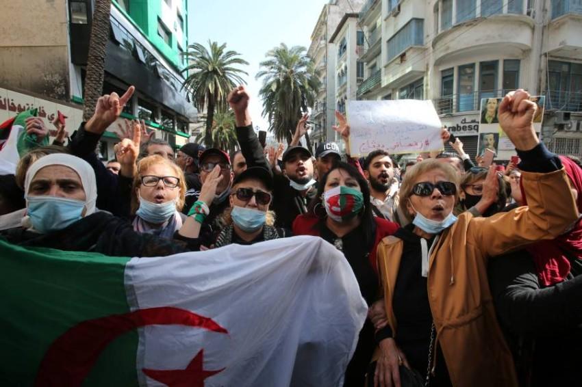 الأمم المتحدة تطلب وقف الاعتقالات التعسفية في الجزائر. (رويترز)