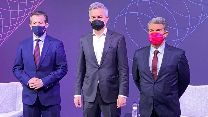 الثلاثي المرشح لرئاسة برشلونة. (ARCHYDE)