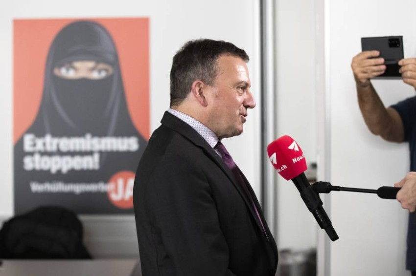 سويسرا تعتزم حظر النقاب. (أ ب)