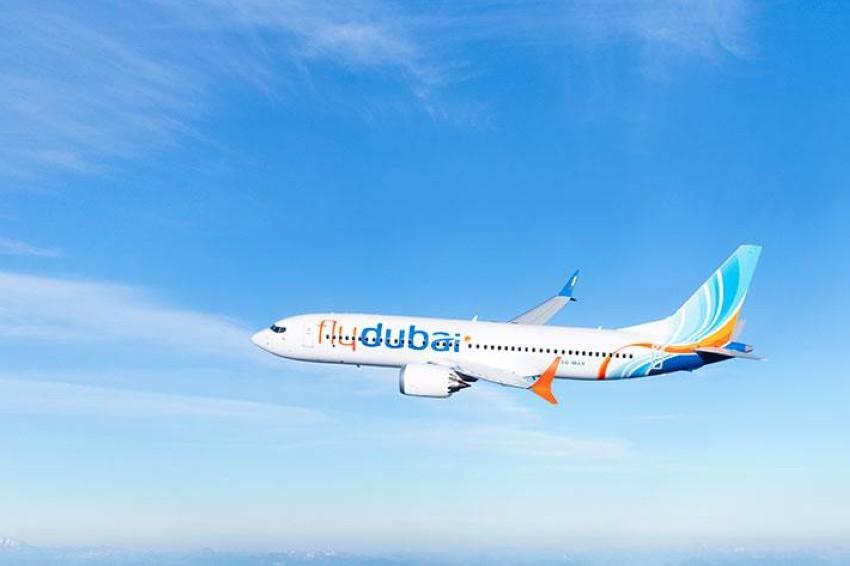 """طائرة تابعة لـ""""فلاي دبي"""" طراز بوينغ 737 ماكس"""