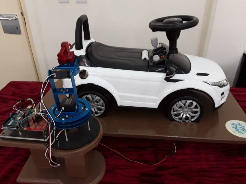 مشروع نظام تزويد المركبات بالوقود تلقائيا