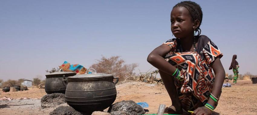 أطفال الساحل الأفريقي يعانون من أزمة غذاء طاحنة. (أرشيفية)