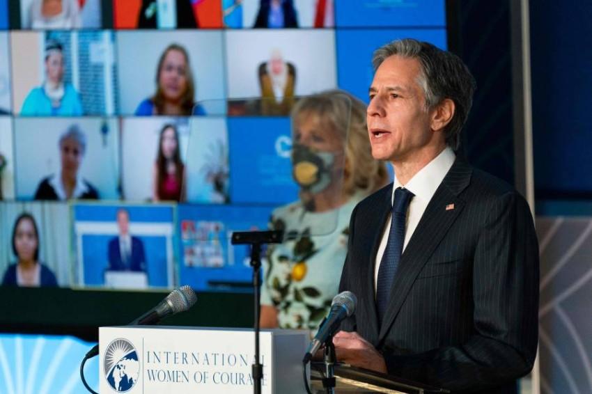وزير الخارجية الأمريكي أنتوني بلينكن - أ ف ب.