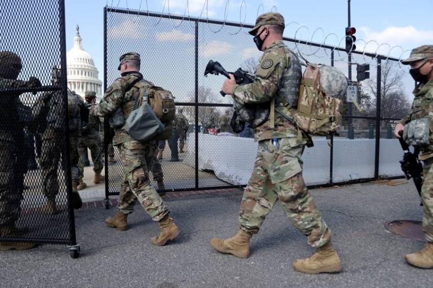 الحرس الوطني سيبقى في واشنطن لمدة شهرين ونصف الشهر - رويترز.