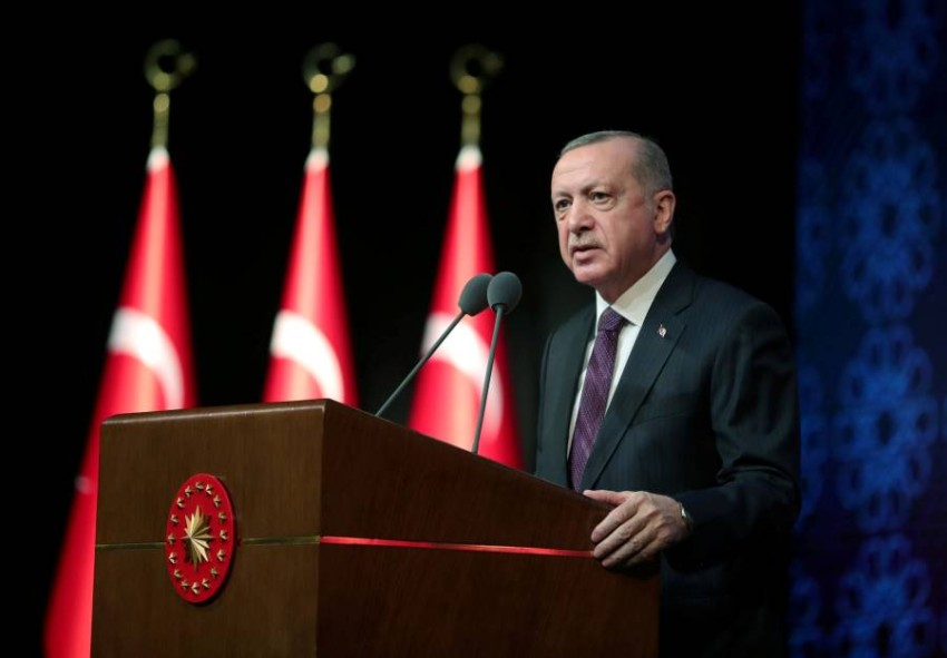 رجب طيب أردوغان. (رويترز)