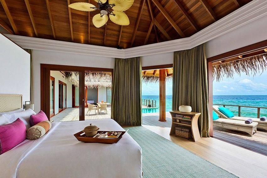 المنتجعات السياحية في المالديف
