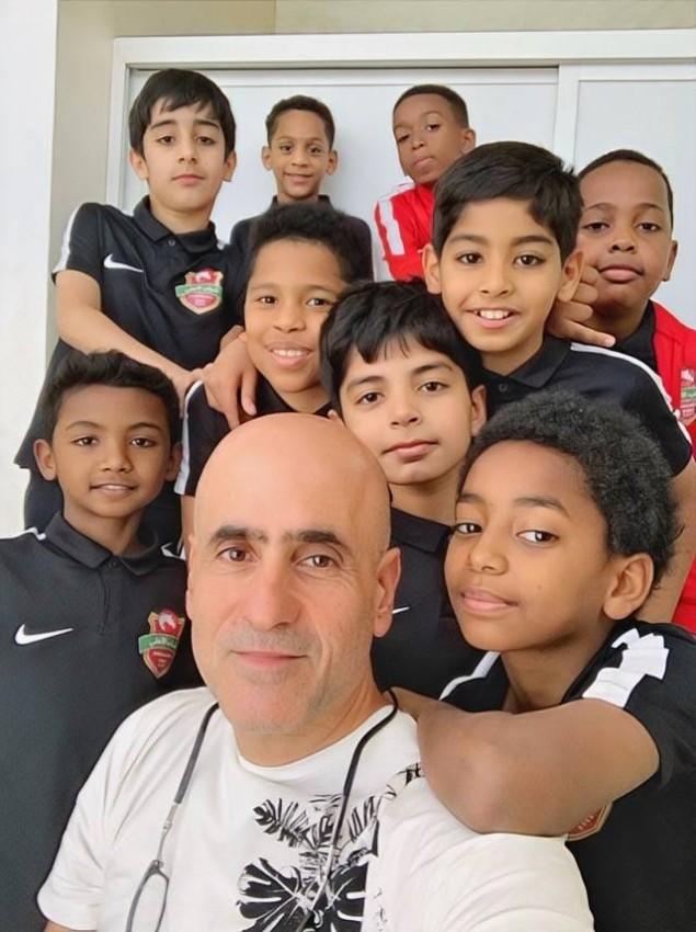 جمال البناي مع نادي الأهلي.