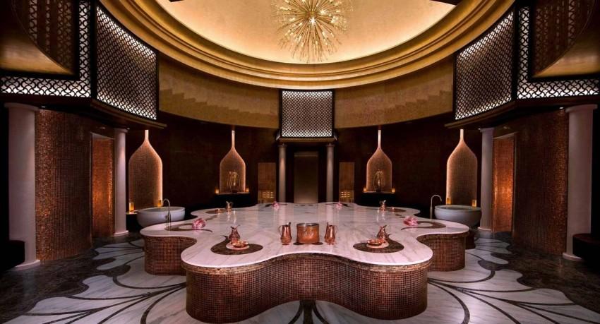 السبا في فندق القرم الشرقي من أنانتارا أبوظبي
