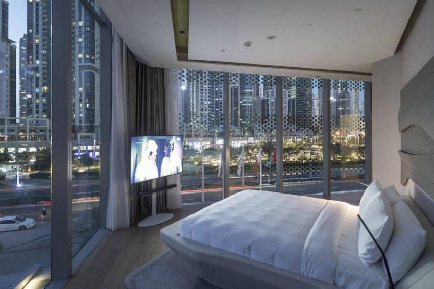 تصميم الغرف من الداخل في فندق مي دبي